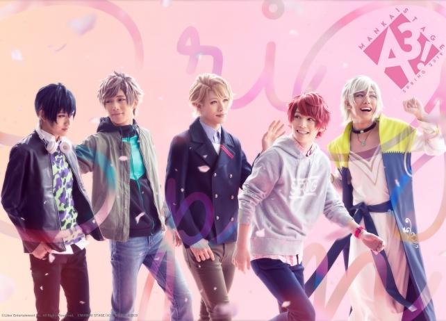 MANKAI STAGE『A3!』~SPRING 2019〜の全情報解禁!