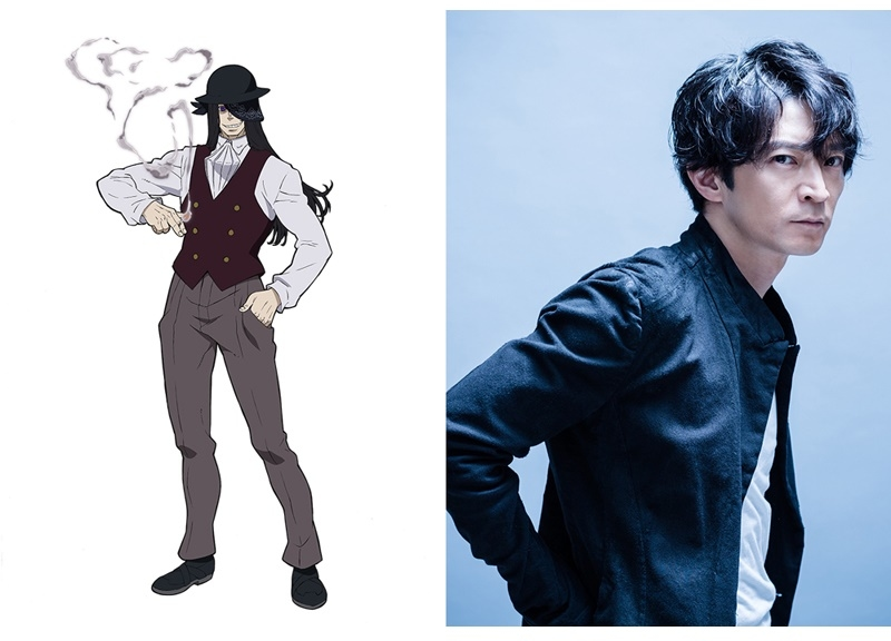 TVアニメ『炎炎ノ消防隊』ジョーカー役は津田健次郎に決定