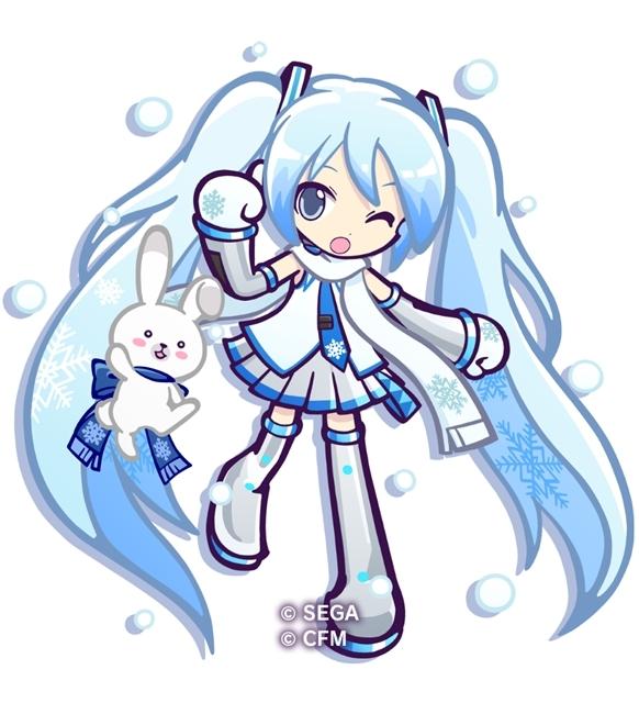 『ぷよぷよ!!クエスト』×『SNOW MIKU』コラボイベント開催日は2月20日に決定! 「ぷよクエ」チーム描きおろしのコラボキャラクターを全公開-3