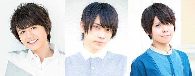 天野七瑠さん、笹翼さん、汐谷文康さんの声優ユニット「あまさしお」がAnimeJapan 2019 アニメイトブースでオープニングイベント&名刺お渡し会を実施