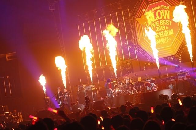 "「FLOWはみんなでライブを作り続けてるバンドです!」 ライブ神曲一挙披露 盟友・GRANRODEOも駆け付けた日本武道館""神祭り""公演-1"