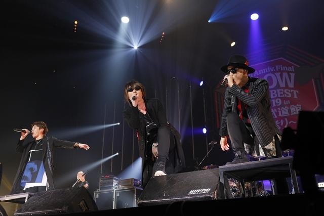 "「FLOWはみんなでライブを作り続けてるバンドです!」 ライブ神曲一挙披露 盟友・GRANRODEOも駆け付けた日本武道館""神祭り""公演-9"