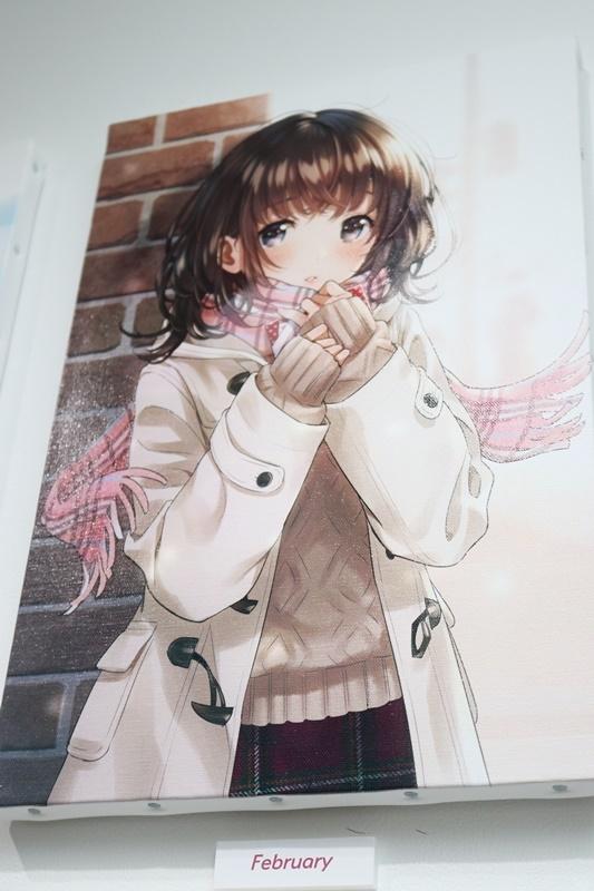 森倉円さん初個展『Girl Friend』をレポート! オリジナル美少女作品の展示だけでなく『キズナアイ』などの商業作品も一堂に集結!-17