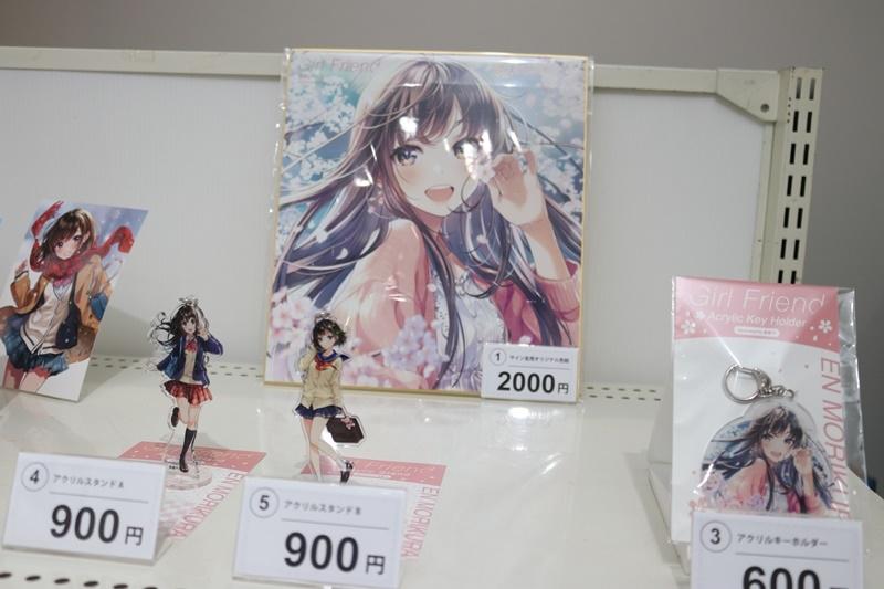 森倉円さん初個展『Girl Friend』をレポート! オリジナル美少女作品の展示だけでなく『キズナアイ』などの商業作品も一堂に集結!-29