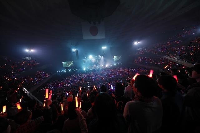 "「FLOWはみんなでライブを作り続けてるバンドです!」 ライブ神曲一挙披露 盟友・GRANRODEOも駆け付けた日本武道館""神祭り""公演-15"