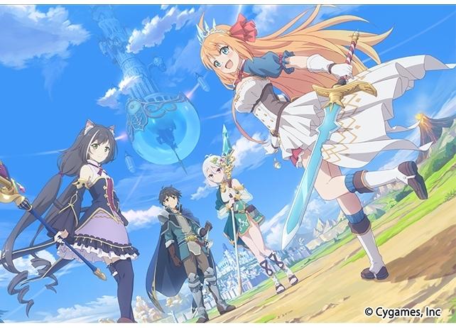 『プリンセスコネクト!Re:Dive』が、TVアニメ化決定!