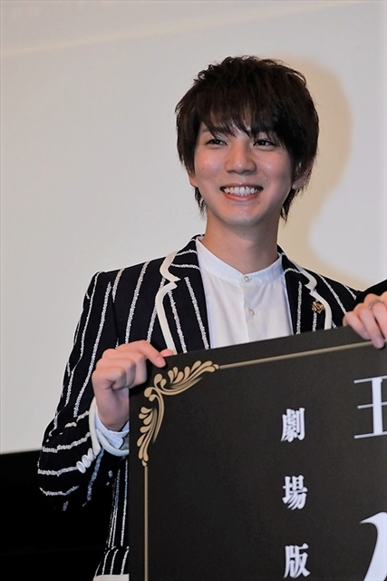 劇場版『王室教師ハイネ』初日舞台挨拶を実施! 植田圭輔さんが涙した、橋本祥平さんからの愛溢れるサプライズレターも公開-3