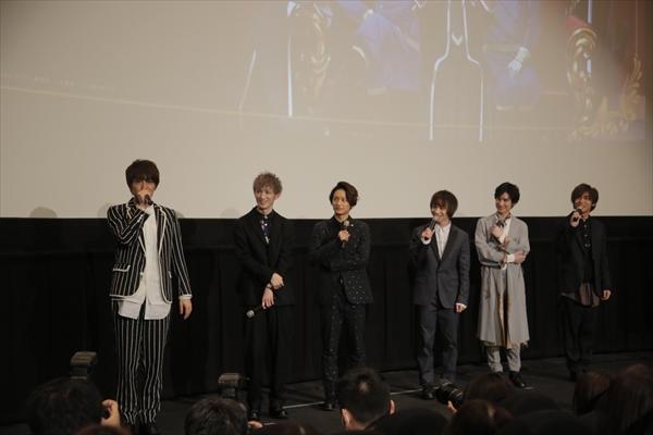 劇場版『王室教師ハイネ』初日舞台挨拶を実施! 植田圭輔さんが涙した、橋本祥平さんからの愛溢れるサプライズレターも公開-9