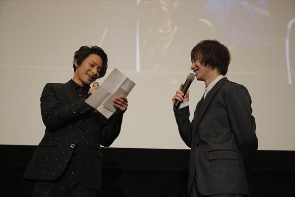 劇場版『王室教師ハイネ』初日舞台挨拶を実施! 植田圭輔さんが涙した、橋本祥平さんからの愛溢れるサプライズレターも公開-10
