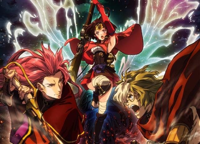 アニメ『甲鉄城のカバネリ』総集編のBD&DVDとサントラが発売