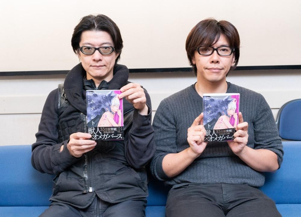 ドラマCD『レムナント2-獣人オメガバース-』佐藤拓也さん&川原慶久さんインタビュー