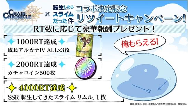 アニメ『転生したらスライムだった件』と『チェインクロニクル3』のコラボイベントより紹介PVが到着! 併せて特設サイトがアップデート!-4