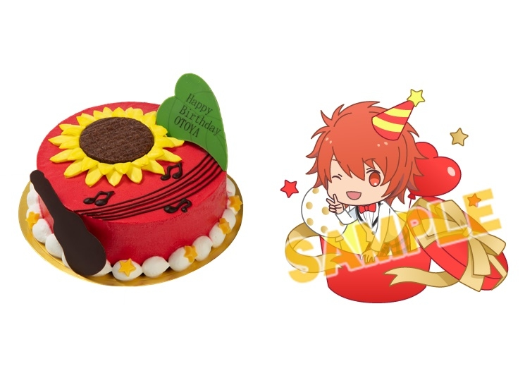 『うたの☆プリンスさまっ♪』バースデーケーキがアニメイト池袋本店で限定販売