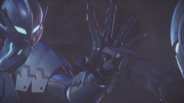 ▲謎の異星人ベムラー。ULTRAMANの拳を片手で受け止める彼の正体とは…