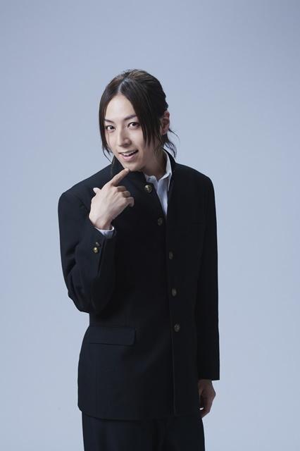 冬アニメ『Dimensionハイスクール』に蒼井翔太さんが実写で出演! オフィシャルインタビューが到着