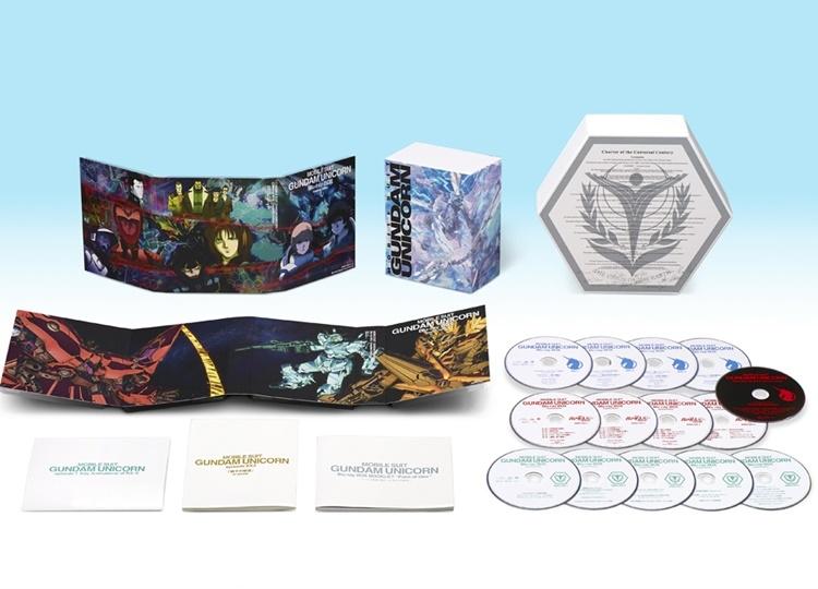『機動戦士ガンダムUC』BDBOXが2月26日(火)発売