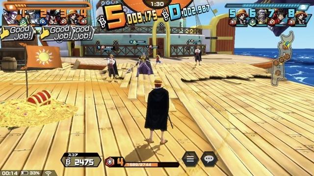 ▲試合終了後はスタンプでお互いの健闘をたたえ合えます。すごく、スポーツマンシップです……海賊なのに。
