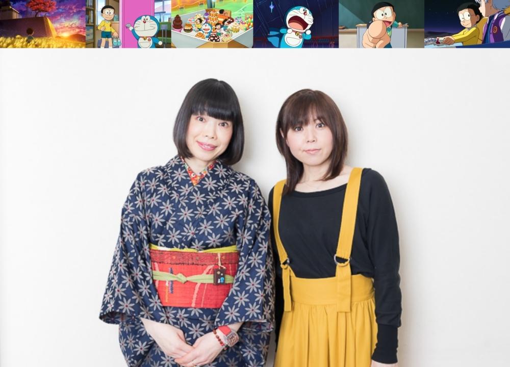 『映画ドラえもん のび太の月面探査記』水田わさびさん×大原めぐみさんインタビュー