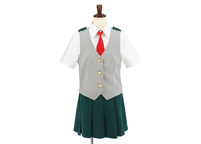 『ヒロアカ』雄英高校制服(女子ベスト)発売決定