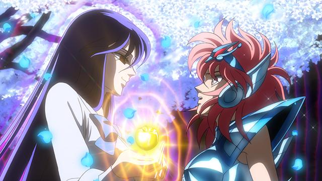 『聖闘士星矢 セインティア翔』第4話のあらすじ・場面カットが公開! エリスの神殿に乗り込んだ翔子。アテから衝撃の事実を告げられて……-2