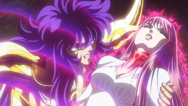 『聖闘士星矢 セインティア翔』第4話のあらすじ・場面カットが公開! エリスの神殿に乗り込んだ翔子。アテから衝撃の事実を告げられて……-1