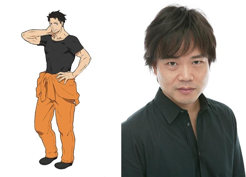 TVアニメ『炎炎ノ消防隊』秋樽桜備役は中井和哉に決定