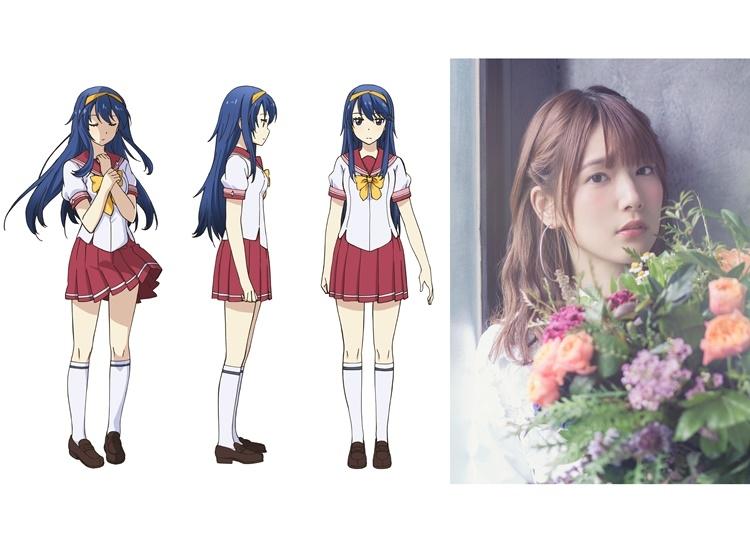 春アニメ『この世の果てで恋を唄う少女YU-NO』波多乃神奈のキャラクターデザイン解禁