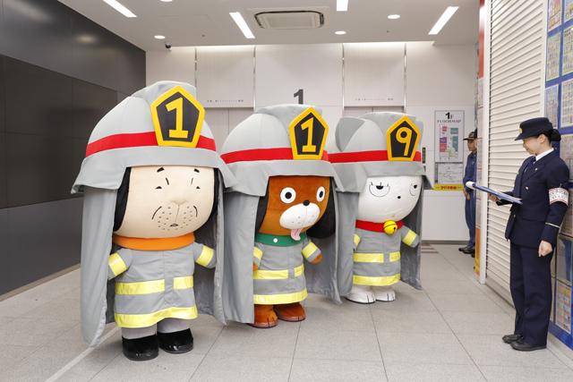 『炎炎ノ消防隊』声優・梶原岳人さん&中井和哉さんが一日消防官に! 春の火災予防運動・消防演習に参加
