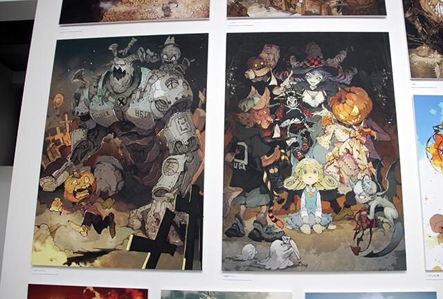 『約束のネバーランド』漫画家の個展が表参道「pixiv WAEN GALLERY」でスタート|出水ぽすか個展「ワンダーロード」をフォトレポート