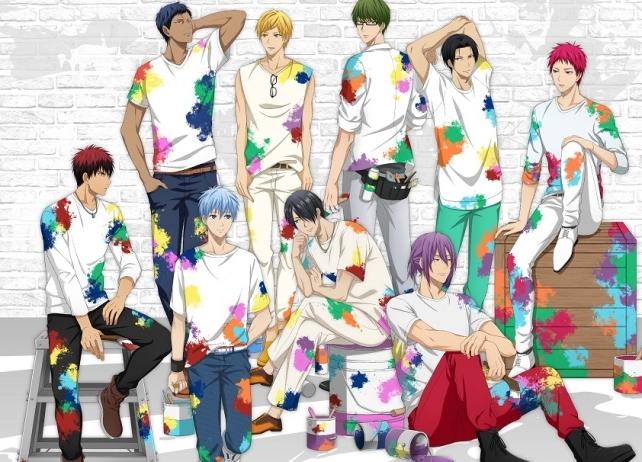 アニメ『黒子のバスケ』のイベントショップがオープン