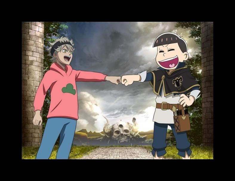 『えいがのおそ松さん』×アニメ『ブラクロ』コラボビジュアル解禁