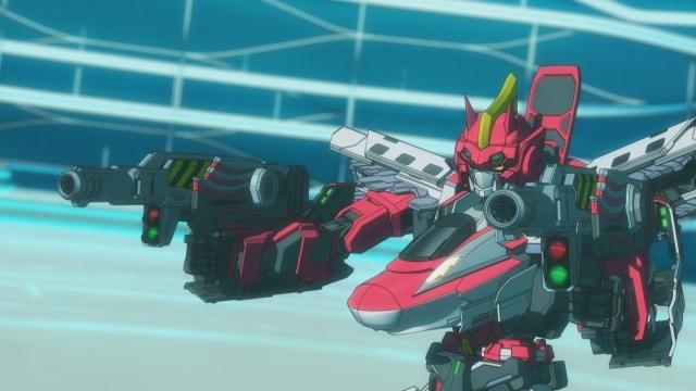 TVアニメ『新幹線変形ロボ シンカリオン』第63話のあらすじ&場面カットが公開!東京駅を攻めるカイレンに対し、指令長代理のフタバは『東京駅・中央迎撃システム』の起動を提案する-3