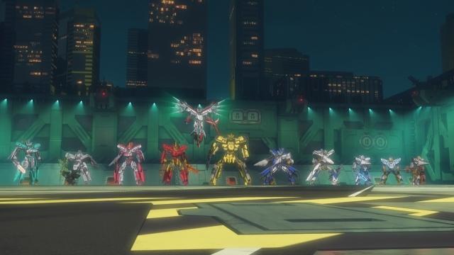 TVアニメ『新幹線変形ロボ シンカリオン』第63話のあらすじ&場面カットが公開!東京駅を攻めるカイレンに対し、指令長代理のフタバは『東京駅・中央迎撃システム』の起動を提案する-7