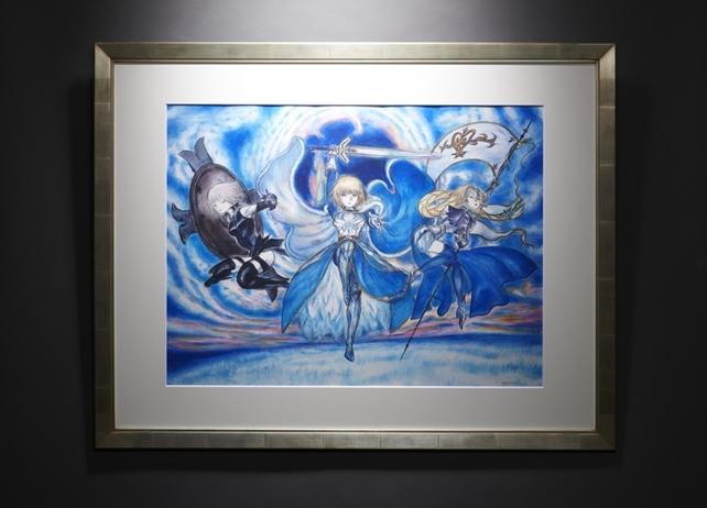 天野喜孝と『FGO』がコラボ!「プレミアムギャラリー」特設ページオープン