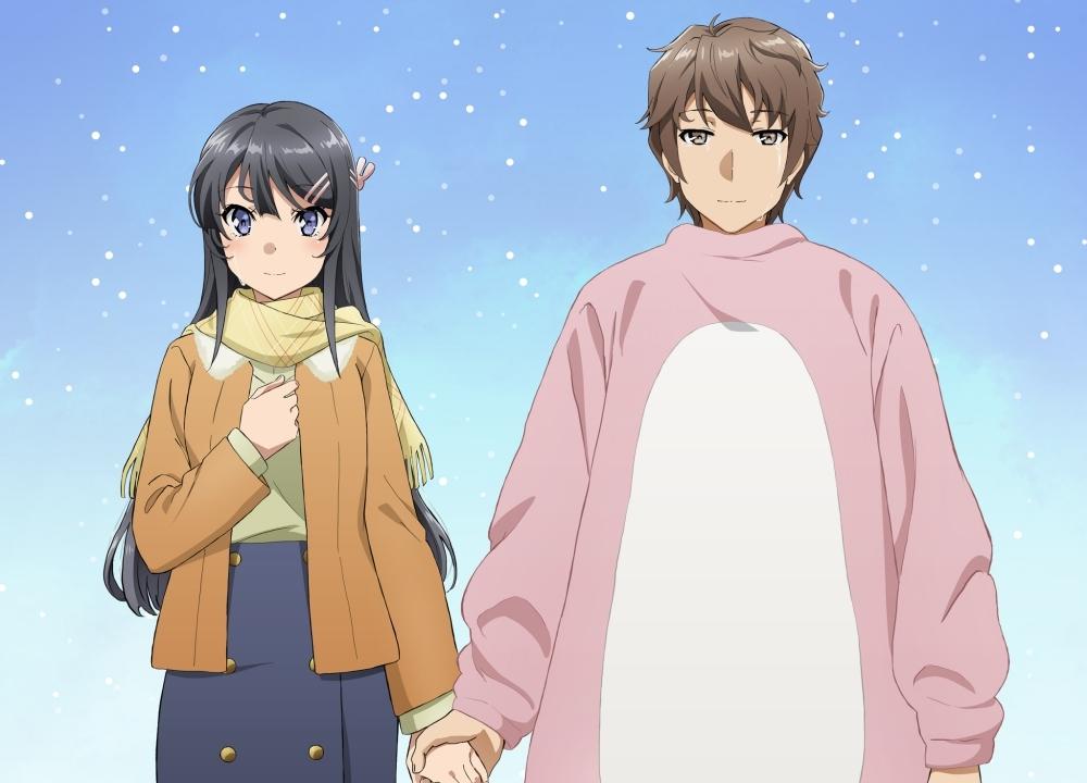 アニメ映画『青春ブタ野郎はゆめみる少女の夢を見ない』第2弾ビジュアルが公開