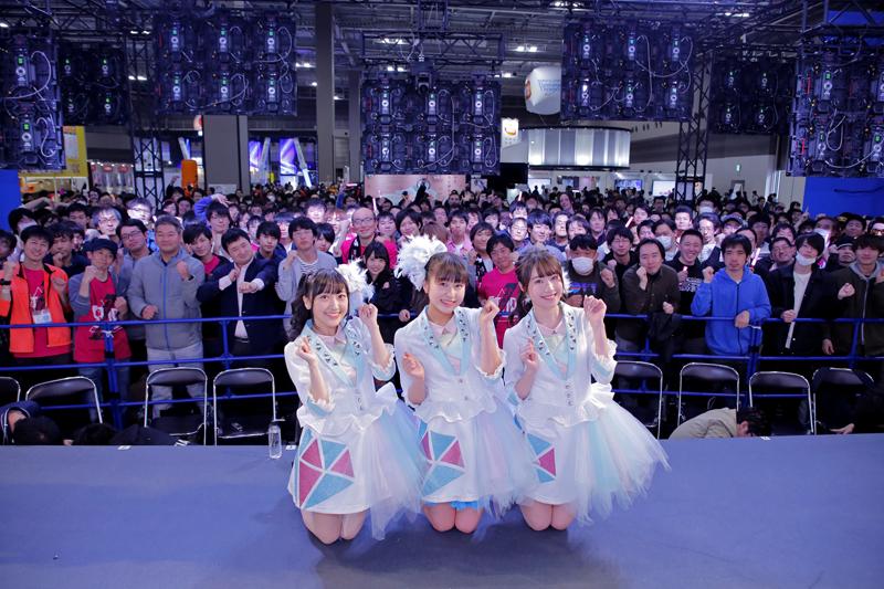 Run Girls, Run! がAJ2019で新曲「ダイヤモンドスマイル」を初披露!