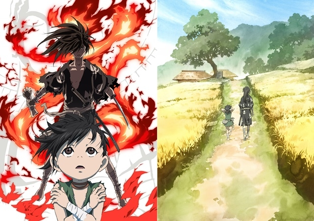 TVアニメ『どろろ』第2クール目のオープニング&エンディング、第4弾PV、Blue-ray BOXジャケットイラストが公開