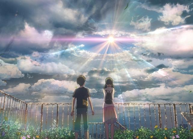 新海誠監督の最新作『天気の子』より、待望のシーンカット初解禁
