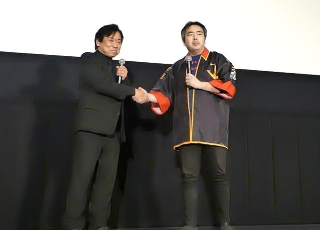 『ヤマト2202』羽原信義、福井晴敏登壇舞台挨拶の公式レポ到着