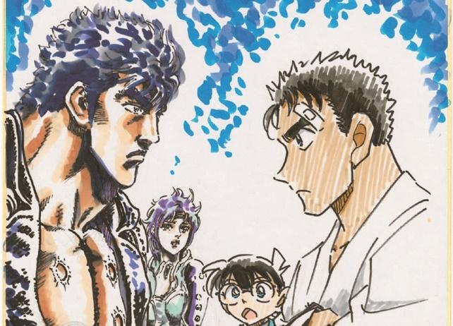 映画『名探偵コナン 紺青の拳』×『北斗の拳』の超異色コラボレーションが実現