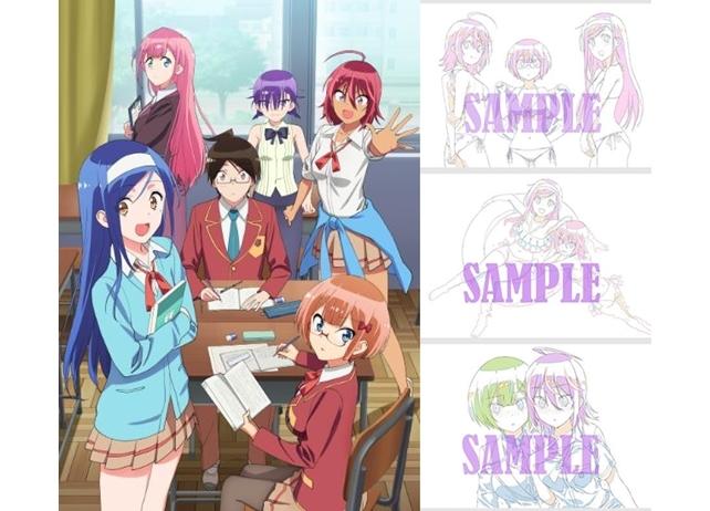 『ぼく勉』BD&DVDアニメイト&ゲーマーズ店舗別特典の描き下ろしイラストラフを大公開!