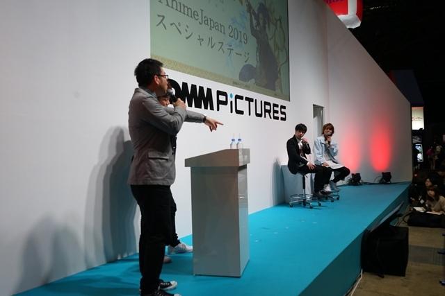 【AJ2019】DMM picturesステージ『なむあみだ仏っ!-蓮台 UTENA-』キャストトークショーに声優の水中雅章さん&八代拓さん登壇! 公式レポートで当日の模様を大紹介-9