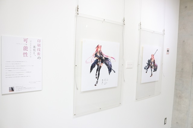 redjuice個展『印刷技術の進化と、デジタルイラストの可能性』をレポート!『ギルティクラウン』などの商業作品が一堂に集結!-6