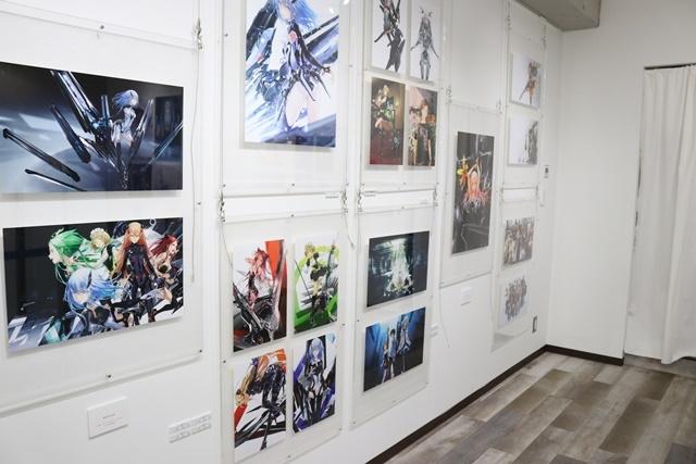 redjuice個展『印刷技術の進化と、デジタルイラストの可能性』をレポート!『ギルティクラウン』などの商業作品が一堂に集結!-8