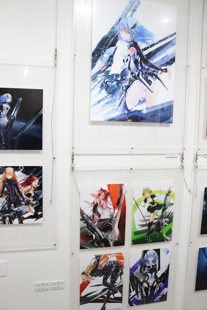 redjuice個展『印刷技術の進化と、デジタルイラストの可能性』をレポート!『ギルティクラウン』などの商業作品が一堂に集結!-11