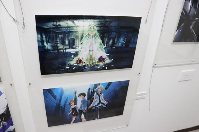 redjuice個展『印刷技術の進化と、デジタルイラストの可能性』をレポート!『ギルティクラウン』などの商業作品が一堂に集結!-13
