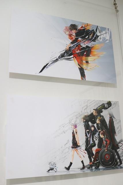 redjuice個展『印刷技術の進化と、デジタルイラストの可能性』をレポート!『ギルティクラウン』などの商業作品が一堂に集結!-15
