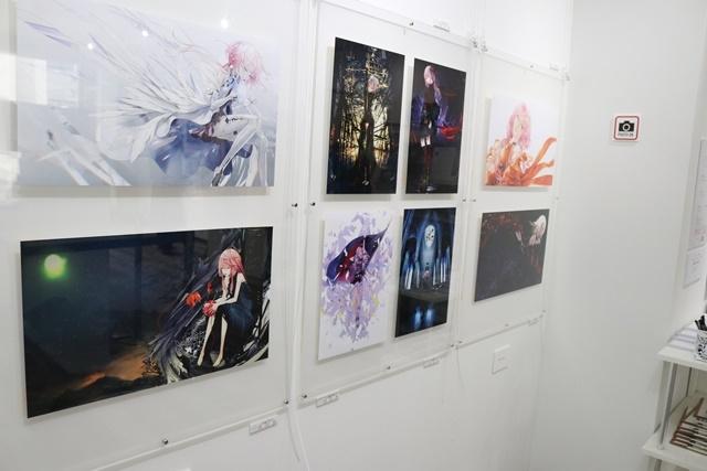 redjuice個展『印刷技術の進化と、デジタルイラストの可能性』をレポート!『ギルティクラウン』などの商業作品が一堂に集結!-17