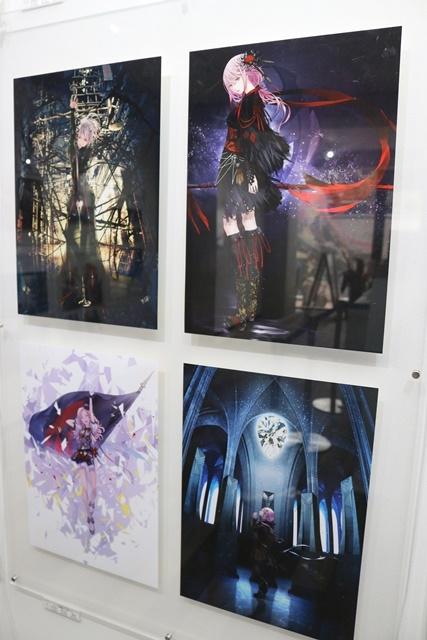 redjuice個展『印刷技術の進化と、デジタルイラストの可能性』をレポート!『ギルティクラウン』などの商業作品が一堂に集結!-19