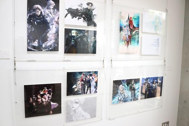 redjuice個展『印刷技術の進化と、デジタルイラストの可能性』をレポート!『ギルティクラウン』などの商業作品が一堂に集結!-21